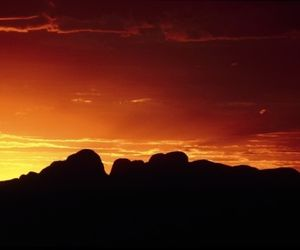 Sails in the Desert - Kata Tjuta Sunset