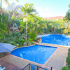 The thumbnail of Tropical landscaped pools large image