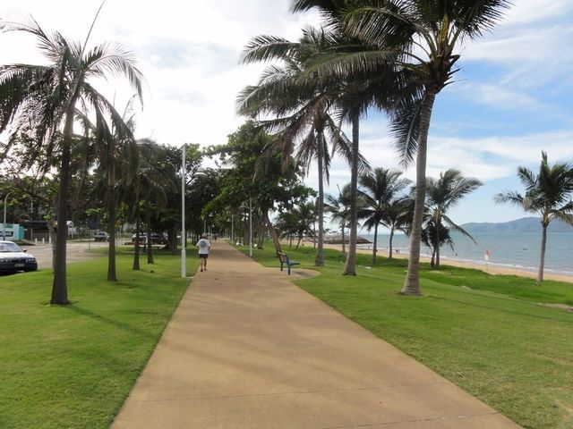 Walkway by the beach