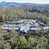 The thumbnail of Cradle Mountain Hotel - Aerial view large image