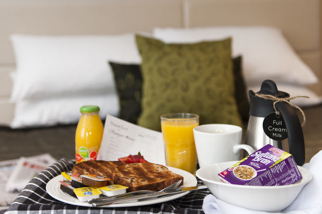 Complimentary Daily Continental Breakfast Hamper