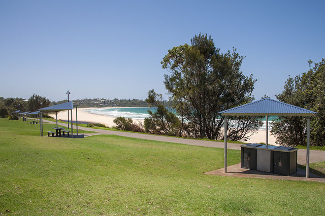 BBQ Area at Mollymook Beach Reserve